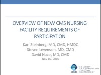Overview of New CMS Nursing Facility Requirements of Participation