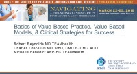 Basics of Value-Based Practice (VBP), Program Models, and Clinical Strategies for Success