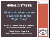 Moral Distress: What to Do When You Are Powerless to Do the Right Thing