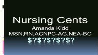 "Nursing ""Cents"""