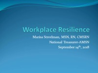 Town Hall - Workplace Resilience