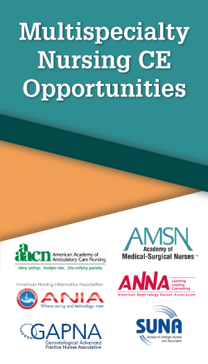 Multispecialty Nursing CE Opportunities 2019
