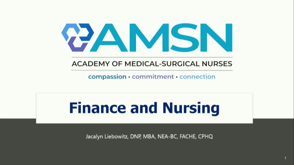 Finance and Nursing