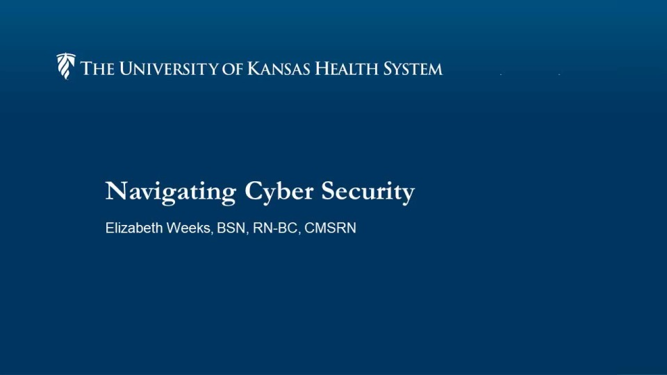 Navigating Cybersecurity within Patient Care