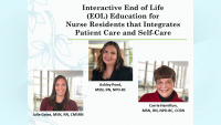 Interactive End-of-Life Education for Medical-Surgical Nurse Residents Integrates Patient Care and Self-Care