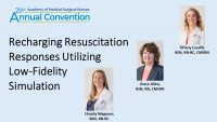 Recharging Resuscitation Responses Utilizing Low-Fidelity Simulation