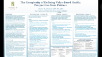 The Complexity of Defining Value-Based Health: Perspectives from Patients