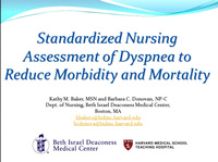 Standardized Nursing Assessment of Dyspnea to Reduce Morbidity and Mortality