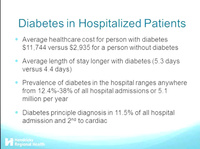 Intensive Insulin Therapies During Hospitalization and Beyond
