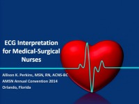 ECG Interpretation for Medical-Surgical Nurses
