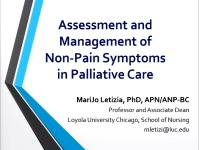 Assessment and Management of Common Non-Pain Symptoms in Palliative Care