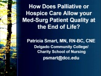 How Does Palliative or Hospice Care Allow Your Med-Surg Patient Quality at the End of Life?
