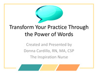 Transform Your Practice Through the Power of Words