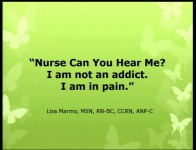 """Nurse, Can You Hear Me? I Am Not an Addict. I Am in Pain."""