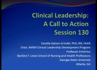 Clinical Leadership: A Call to Action
