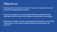 Vaccination Leadership for Med-Surg Nurses: The Essentials of What You Need to Know