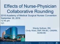 Communication Between RN and Physician