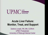 Acute Liver Failure: Monitor, Treat, and Support
