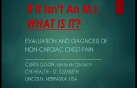 If It Isn't an MI, What Is It? The Path to Diagnosis of Non-Cardiac Chest Pain