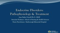 Pathophysiology and Treatment of Thyroid and Adrenal Gland Disorders