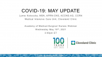 COVID-19: May Update