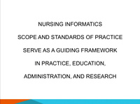 Bits and Bytes: Nursing Informatics Potpourri (NIP)