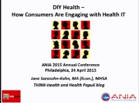Do-It-Yourself Health - How Consumers Are Engaging with Health IT