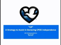 A Strategy to Assist in Declaring CPOE Independence