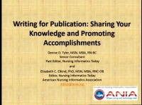 Writing for Publication: Sharing Your Knowledge and Promoting Accomplishments