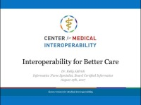 Interoperability for Better Care