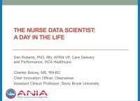 The Nurse Data Scientist: A Day in the Life