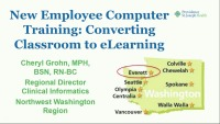 New Employee Computer Training: Converting Classroom to eLearning