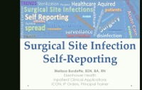 Surgeon Self-Reporting for SSIs Goes Electronic