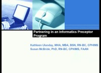 Partnering in an Informatics Preceptorship Program