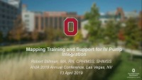 Mapping Training and Support for IV Pump Integration Implementation
