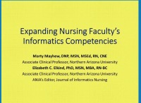Expanding Nursing Faculty's Informatics Competency Levels