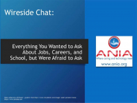 Wireside Chat: Everything You Wanted to Ask About Jobs, Careers, and School, but Were Afraid to Ask