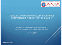 Accelerating Nursing Faculty Informatics Competencies: A Side Effect of COVID-19