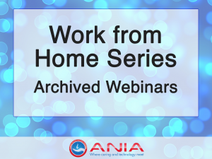 Work From Home Webinar Series Archive