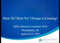 Hear, Ye! Hear, Ye! Change Is Coming!