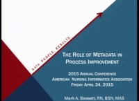 The Role of Metadata in Process Improvement