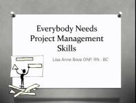 Everybody Needs Project Management Skills