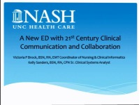 Communication and Collaboration in a 21st Century Emergency Department