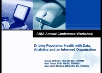 Driving Population Health with Data, Analytics and an Informed Organization