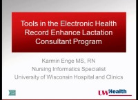 Tools in the Electronic Health Record Enhance Lactation Consultant Program