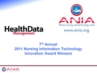 Award-winning ANIA-CARING Nursing Innovations