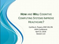 How and Will Cognitive Computing Systems Improve Health Care?