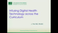 Infusing Digital Health Technology across the Curriculum