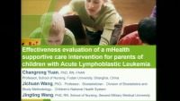 Effectiveness Evaluation of an mHealth Supportive Care Intervention for Parents of Children with Lymphoblastic Leukemia