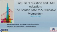 End-User Education and EMR Adoption: The Golden Gate to Sustainable Momentum